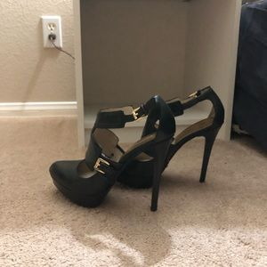 MICHAEL Michael Kors Shoes - Michael kors black heels